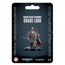 CHAOS LORD chaos space marines WARHAMMER 40K citadel 40000 games workshop PERSONAGGIO età 12+ Games Workshop - 1
