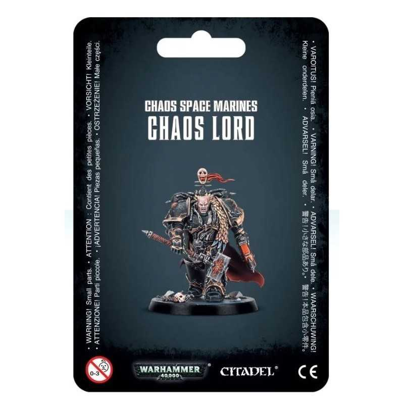CHAOS LORD chaos space marines WARHAMMER 40K citadel 40000 games workshop PERSONAGGIO età 12+ Games Workshop - 1