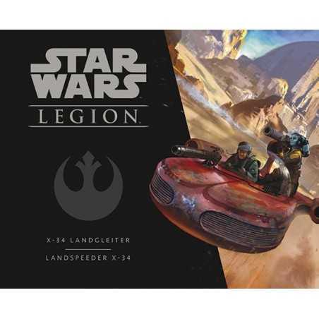 STAR WARS LEGION PACK UNITÀ X-34 LANDSPEEDER ASMODEE ribelli MINIATURE età 14+ Asmodee - 1