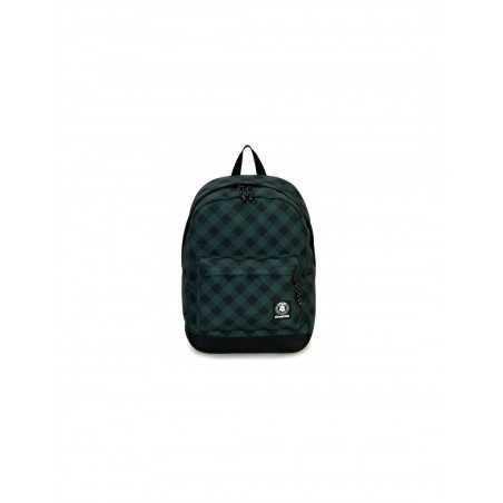 ZAINO CARLSON backpack INVICTA classico VERDE cartella PINE NEEDLE PLAID 27 litri Invicta - 1