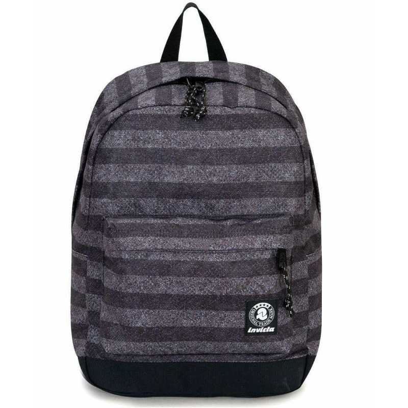 bd80be5a11 ZAINO CARLSON backpack INVICTA classico NERO cartella STRIPES ...