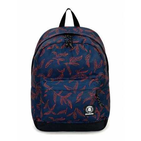 ZAINO CARLSON backpack INVICTA classico BLU SCURO cartella RUCK 27 litri Invicta - 1