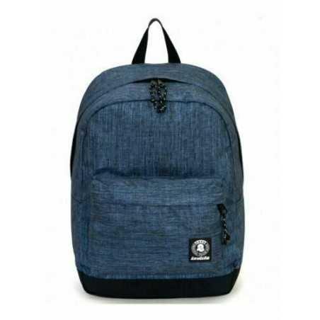 ZAINO CARLSON 2 TONE backpack INVICTA classico DENIM cartella BLU 27 litri Invicta - 1