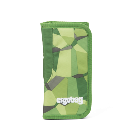 ASTUCCIO ARROTOLABILE Ergobag Bearanusaurus Rex attrezzato pencil case Green Stones Ergobag - 1