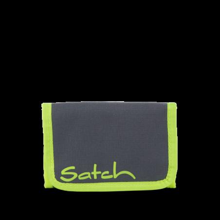 Portafogli Phantom Grey Green WALLET chiusura in velcro porta monete SATCH ecologico Satch - 1