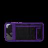 Portafogli Purple Hibiscus WALLET chiusura in velcro porta monete SATCH ecologico Satch - 2