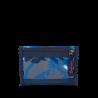 Portafogli Waikiki Blue WALLET chiusura in velcro porta monete SATCH ecologico Satch - 4