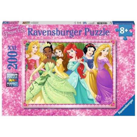 PUZZLE ravensburger DISNEY PRINCESS principesse 200 XXL premium 49 x 36 cm 12745 età 8+ Ravensburger - 1