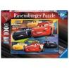PUZZLE 100XXL ravensburger CARS 3 disney pixar A TUTTO GAS 49 x 36 cm 10961 età 6+ Ravensburger - 1