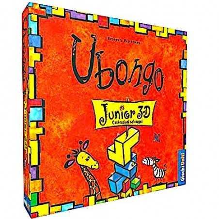UBONGO JUNIOR 3D costruzioni selvagge GIOCO DI COSTRUZIONE giochi uniti IN ITALIANO età 5+ Giochi Uniti - 1