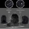 ZAINO SATCH PACK special scuola ergonomico ONYX MESHY in materiale riciclato medie superiori NERO BLACK Satch - 2