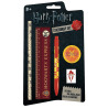 STATIONERY SET SMALL kit cancelleria HARRY POTTER righello gomma biro matita temperino GUT GUT - 1