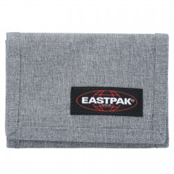 PORTAFOGLI eastpak CREW SINGLE grigio SUNDAY GREY zip EK371 classico 363 velcro EASTPAK - 2