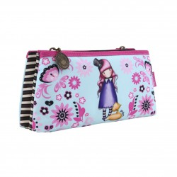 ASTUCCIO BUSTA DOPPIA pencil case THE DREAMER gorjuss SANTORO london 324GJ20 azzurro Gorjuss - 1