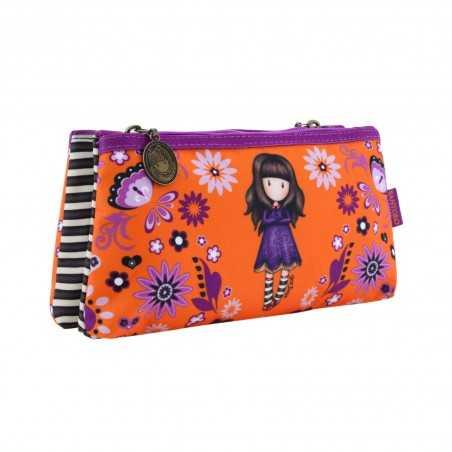 ASTUCCIO BUSTA DOPPIA pencil case COBWEBS gorjuss SANTORO london 324GJ17 arancione Gorjuss - 1