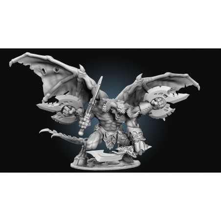 BONES IV 4 RAUTHUROS Daemon Reaper miniature in plastica Kickstarter limited edition Reaper Miniatures - 1