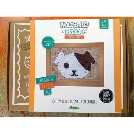 MOSAIC BOX M medium MOSAICO kit artistico 12X17CM CANE dog Creativamente 6+ Creativamente - 1