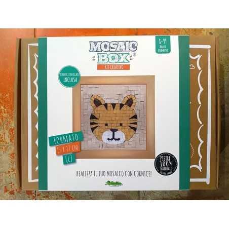 MOSAIC BOX L large MOSAICO kit artistico 17X17CM TIGRE Creativamente 6+ Creativamente - 1