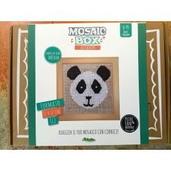 MOSAIC BOX L large MOSAICO kit artistico 17X17CM PANDA Creativamente 6+ Creativamente - 1