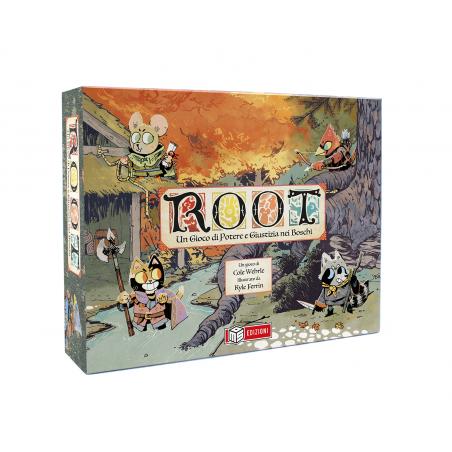 ROOT edizione italiana MS edizioni gioco da tavolo di potere e giustizia nei boschi MS Edizioni - 1