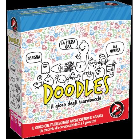 DOODLES in italiano RED GLOVE gioco di disegno PARTY GAME scarabocchi DISEGNARE età 10+ Red Glove - 1