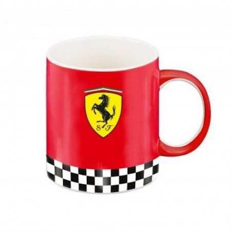 TAZZA mug FERRARI official licensed product ROSSO scuderie SI LAVASTOVIGLIE SI MICROONDE Franco Panini Ragazzi - 1