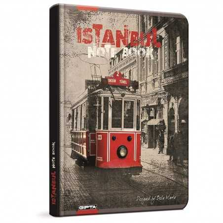 QUADERNO A5 a quadretti 5M ISTANBUL brossura copertina rigida Notebook cm 17x24 Seven Metropol SEVEN - 1