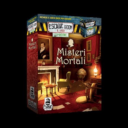 MISTERI MORTALI espansione per ESCAPE ROOM il gioco ROMPICAPO cranio creations DIFFICOLTA' 3 età 12+ Cranio Creations - 1