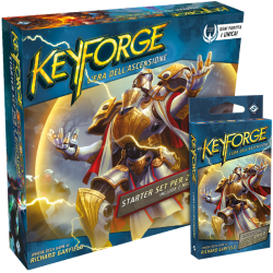 KEYFORGE era dell'ascensione STARTER SET in italiano con 2 MAZZI DECK GAME eda età 10+ Asmodee - 1