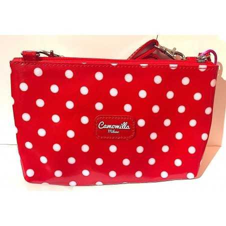 TRACOLLINA shoulder bag CAMOMILLA seven MILANO mini ROSSO con zip IRONICHE tracolla SEVEN - 2