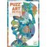 PUZZLE ART puzz'art SEA HORSE cavalluccio marino DJECO 350 pezzi DJ07653 gioco 7+ Djeco - 1
