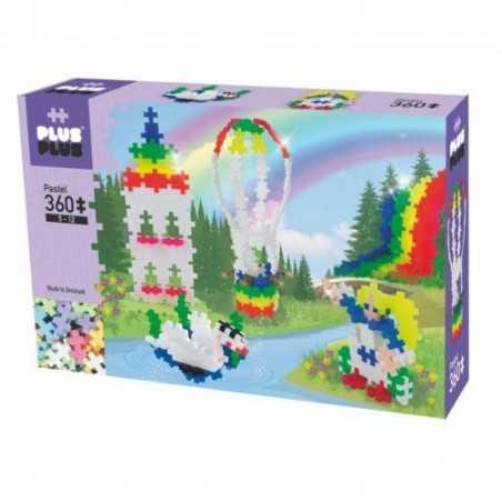 MINI PASTEL costruzioni PLUS PLUS 360 pezzi PLUSPLUS gioco modulare RAINBOW HOT AIR età 5+ Plusplus - 1