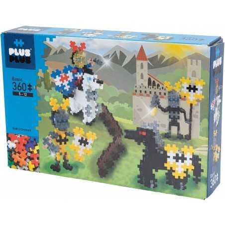 MINI BASIC costruzioni PLUS PLUS 360 pezzi PLUSPLUS gioco modulare KNIGHTS età 5+ Plusplus - 1