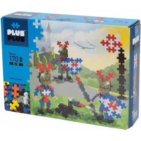 MINI BASIC costruzioni PLUS PLUS 170 pezzi PLUSPLUS gioco modulare GOLD KNIGHTS età 5+ Plusplus - 1