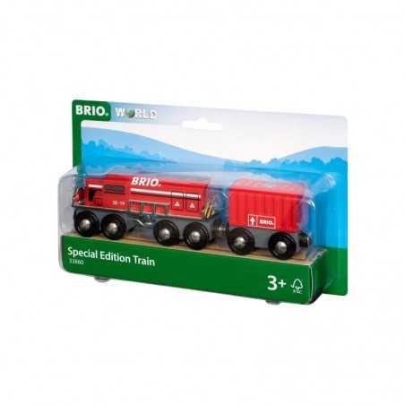 TRENO SPECIALE 2019 trenino BRIO WORLD treni in legno 33860 plastica SPECIAL EDITION TRAIN età 3+ BRIO - 1