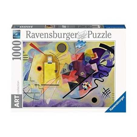 PUZZLE ART 1000 PEZZI ravensburger GIALLO ROSSO BLU KANDINSKY 70 x 50 cm Ravensburger - 1