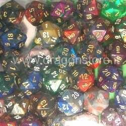 D20 dés Chessex...
