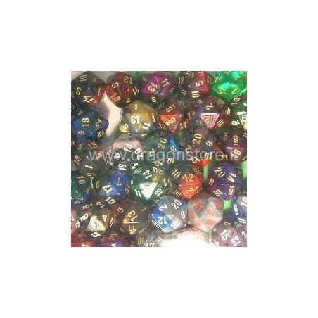 Dado d20 Chessex Gemini - vari colori Chessex - 1