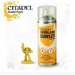 AVERLAND SUNSET colore SPRAY citadel MODEL PAINT bomboletta 400 ML base GIALLO Games Workshop - 1