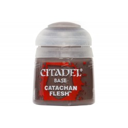 CATACHAN FLESHSTONE colore BASE citadel 12ML acrilico MARRONE opaco Games Workshop - 1