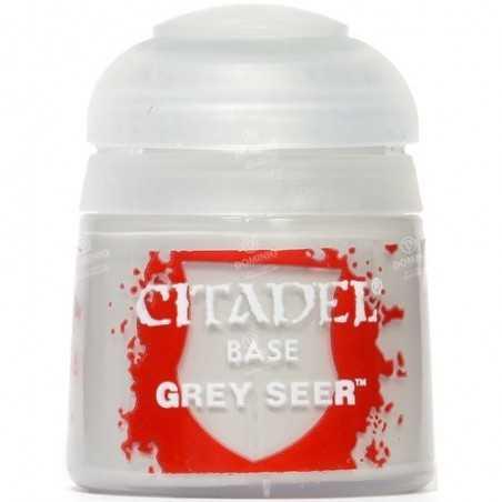 GREY SEER colore BASE citadel 12ML acrilico GRIGIO opaco Games Workshop - 1