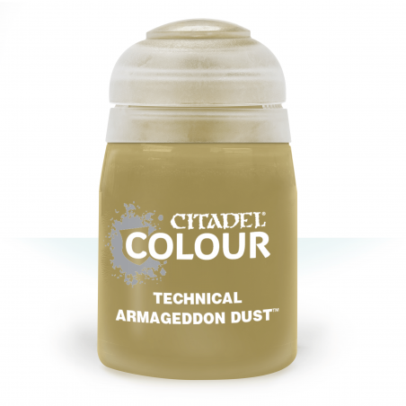 ARMAGEDDON DUST colore TECHNICAL citadel 24ML speciale TEXTURE basette FANGHIGLIA Games Workshop - 1
