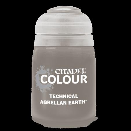 AGRELLAN EARTH colore TECHNICAL citadel 24ML speciale TEXTURE basette SUOLO ARIDO Games Workshop - 1