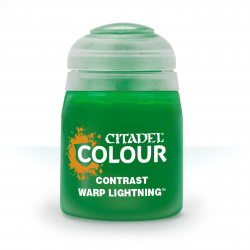 WARP LIGHTNING colore CONTRAST citadel VERDE base ombreggiatura lumeggiatura 18ML Games Workshop - 1