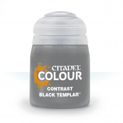 BLACK TEMPLAR colore CONTRAST citadel NERO base ombreggiatura lumeggiatura 18ML Games Workshop - 1