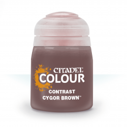 CYGOR BROWN colore CONTRAST...