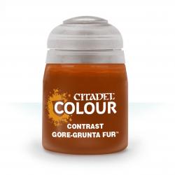 GORE-GRUNTA FUR colore CONTRAST citadel MARRONE base ombreggiatura lumeggiatura 18ML Games Workshop - 1