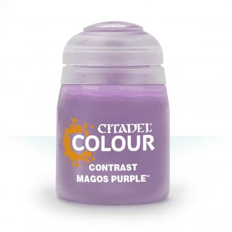 MAGOS PURPLE colore CONTRAST citadel VIOLA base ombreggiatura lumeggiatura 18ML Games Workshop - 1