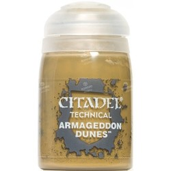 ARMAGEDDON DUNES colore TECHNICAL citadel 24ML speciale TEXTURE basette FANGHIGLIA Games Workshop - 1