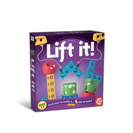 LIFT IT party game per tutti COSTRUZIONE età 8+ GIOCO lift it! GAME FACTORY con la testa daVinci Games - 1